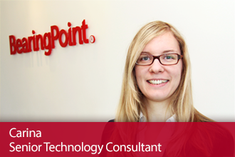 BearingPoint Experienced Hires – Meet Carina, Senior Technology Consultant