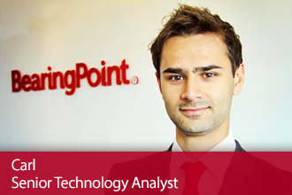 BearingPoint Graduate Hires – Meet Carl, Senior Technology Analyst
