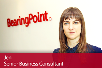 BearingPoint Experienced Hires – Meet Jen, Senior Business Consultant