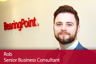 BearingPoint Experienced Hires – Meet Rob, Senior Business Consultant